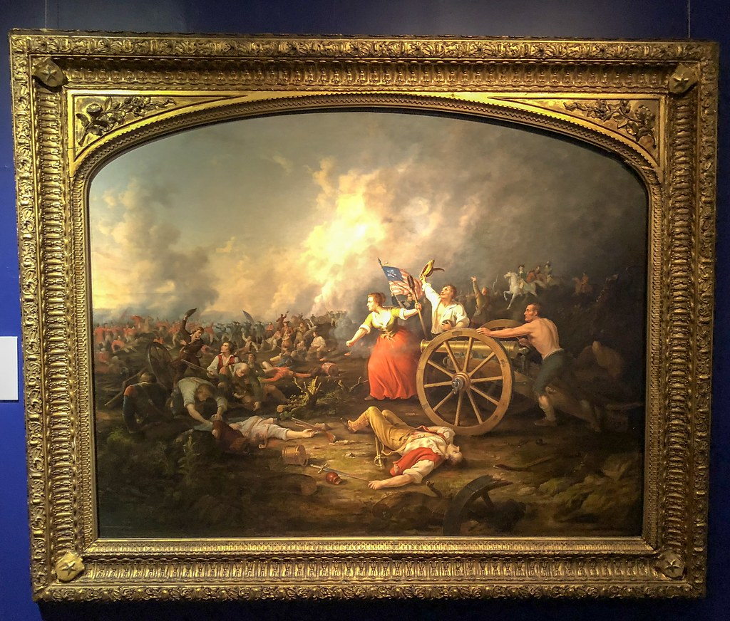 molly pitcher at the battle of monmouth new york city ny raul