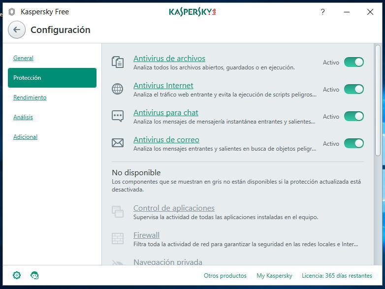 Configuracion-Kaspersky-Free-Antivirus