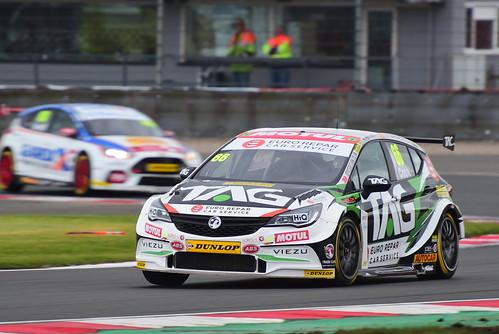 Josh Cook, Vauxhall Astra, British Touring Car Championship, Donington Park 2018