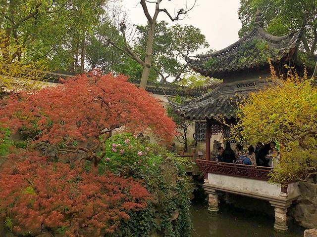 Jardín Yuyuan de Shanghái (China)