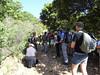 Le groupe au départ du chemin de Naseu