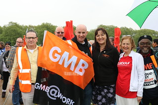 We demand a new deal for working people! | by GMB London Region