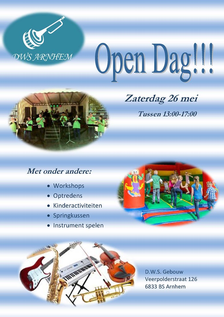 poster opendag D.W.S. 2018