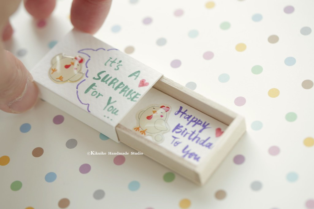 Happy Birthdaymatchbox Cardvalentines Giftcheer Up Box Flickr