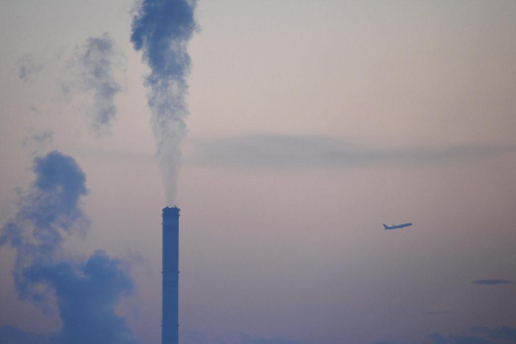 烏蘭巴托的空氣污染。圖片來源:didemtali(CC BY-NC 2.0)
