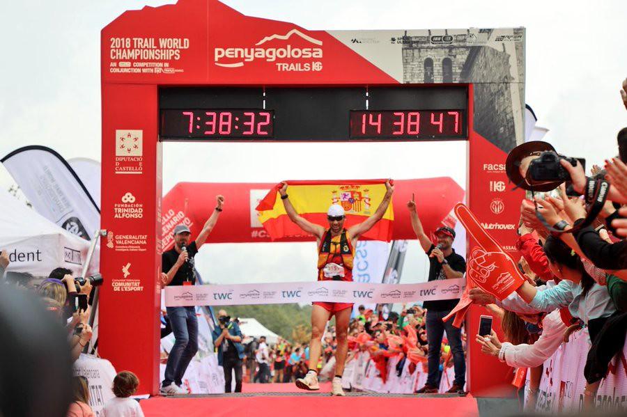 O Luis Alberto Hernando θριαμβεύει στο Παγκόσμιο Πρωτάθλημα Trail | Photo (c): iRunFar