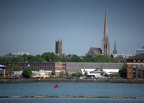 Preston churches in the distance | by Tony Worrall
