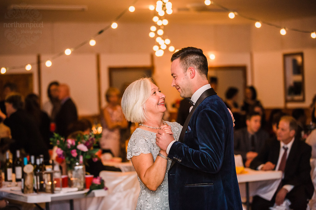 Mother Son Dance Wedding Reception At The Tete Jaune Commu Flickr