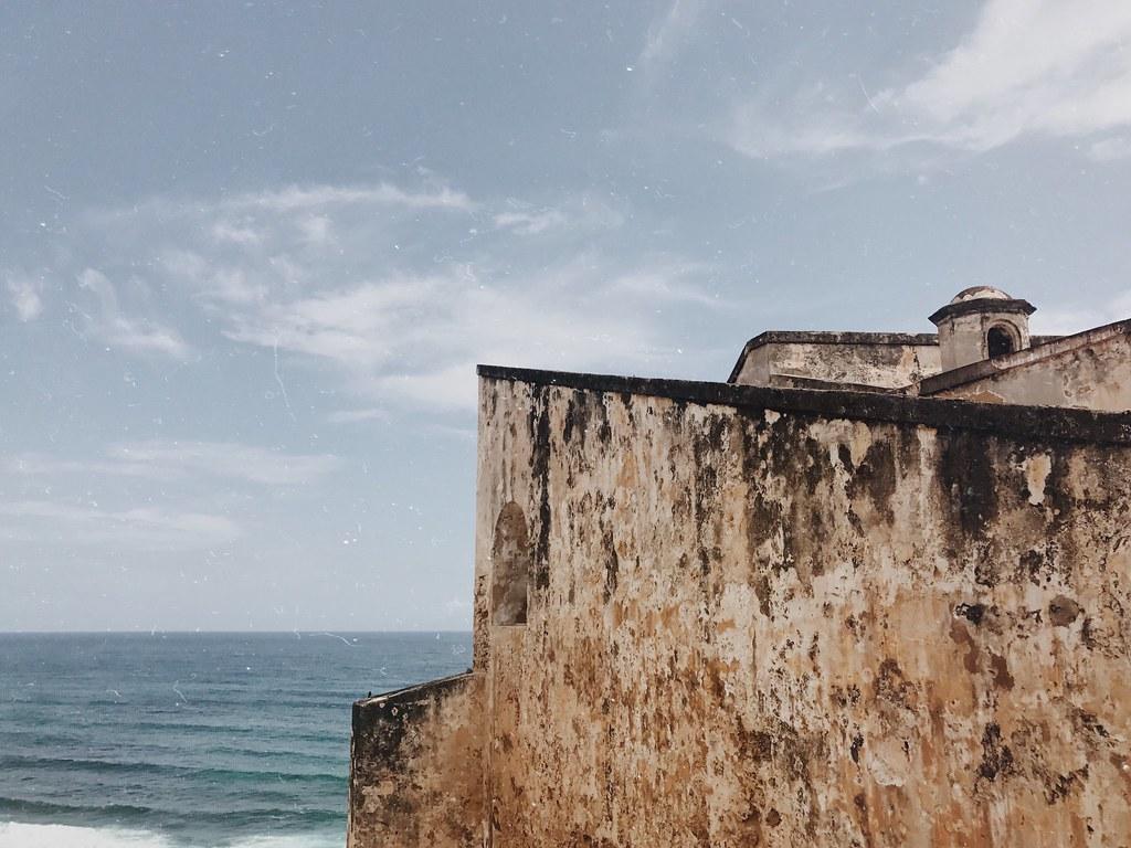 Castillo de San Cristobal in San Juan