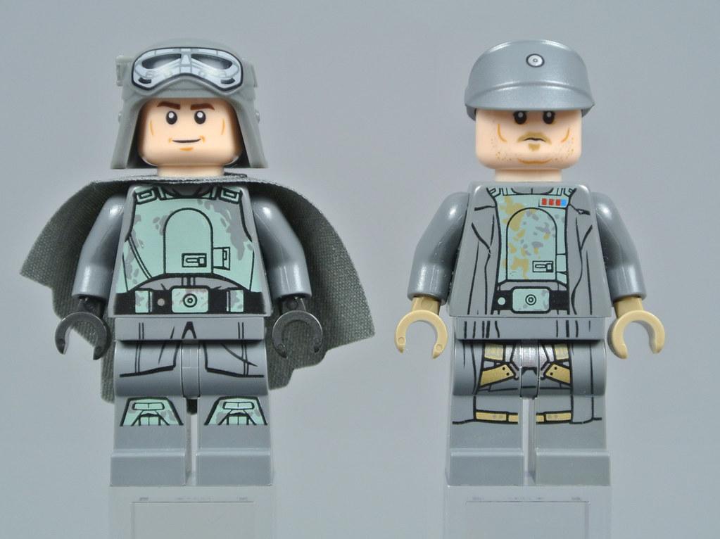 Lego 1 Tan 2x2 Printed tile Star wars rebel mechanical pattern