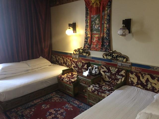 Habitación del hotel de Shigatse (Tíbet)