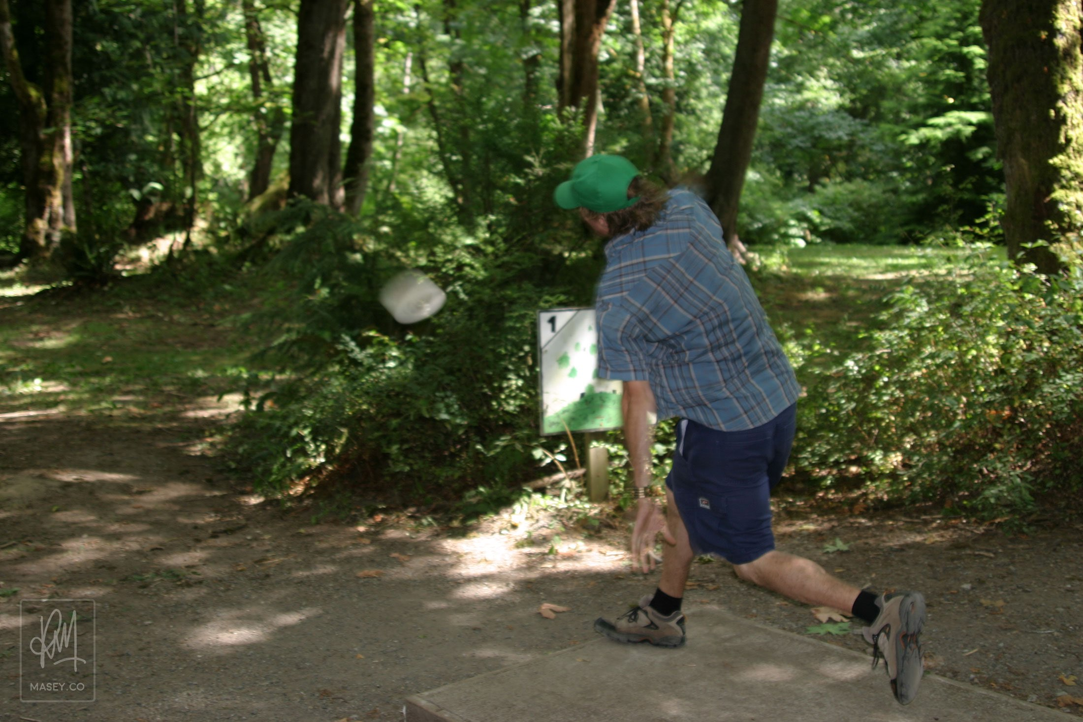 More frisbee golf because... why not?