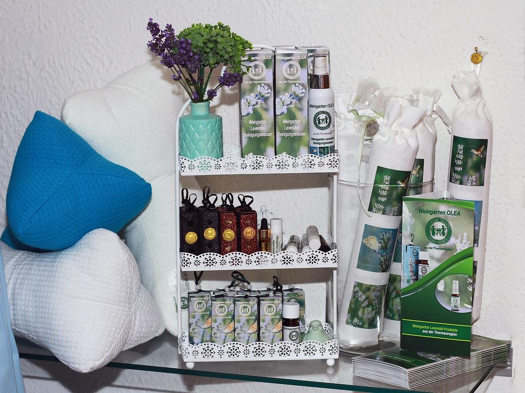 Ab sofort: Lavendel-Produkte aus der Thermenregion