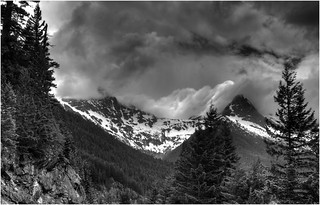 North Cascades Storm by Hart Gately HM Monochrome Print of the Year | by Central DuPage Camera Club