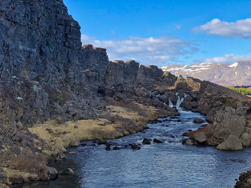 A small waterfall in Þingvellir | by Nezgsy