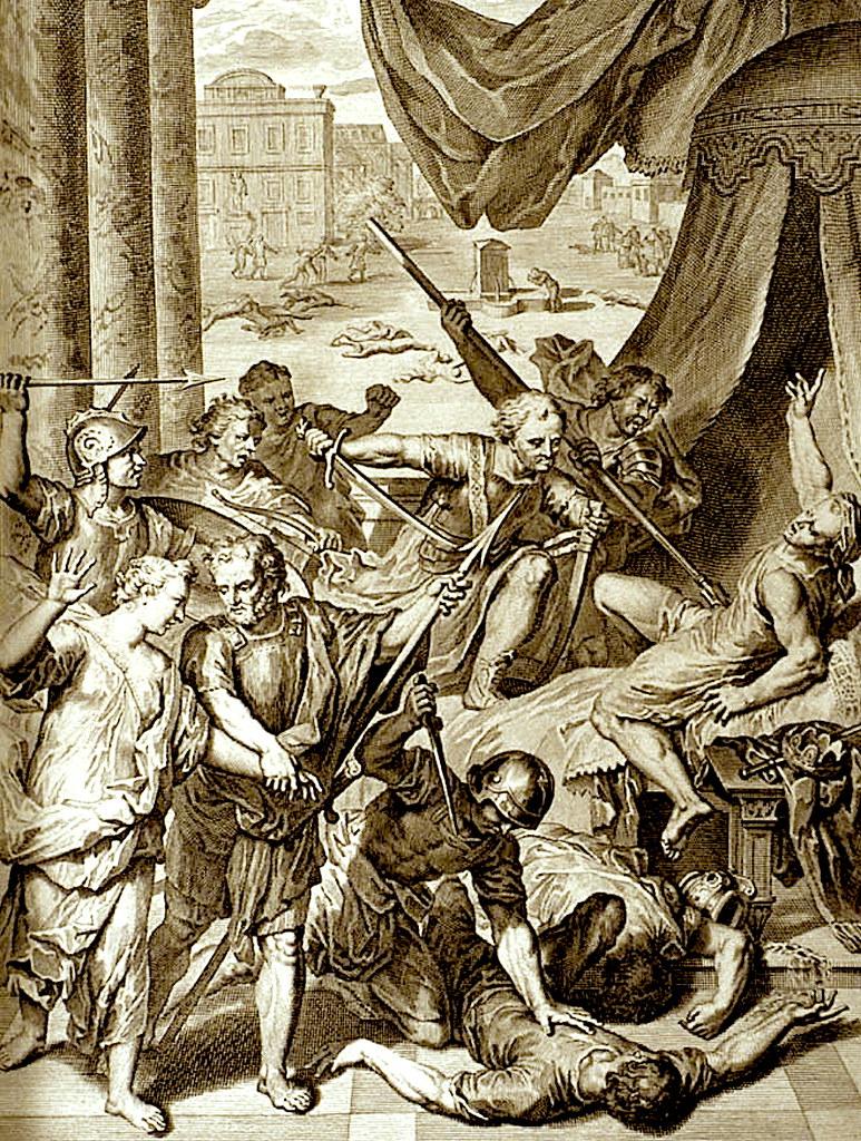Симеон и Левий убивают Сихема и иже с ним.