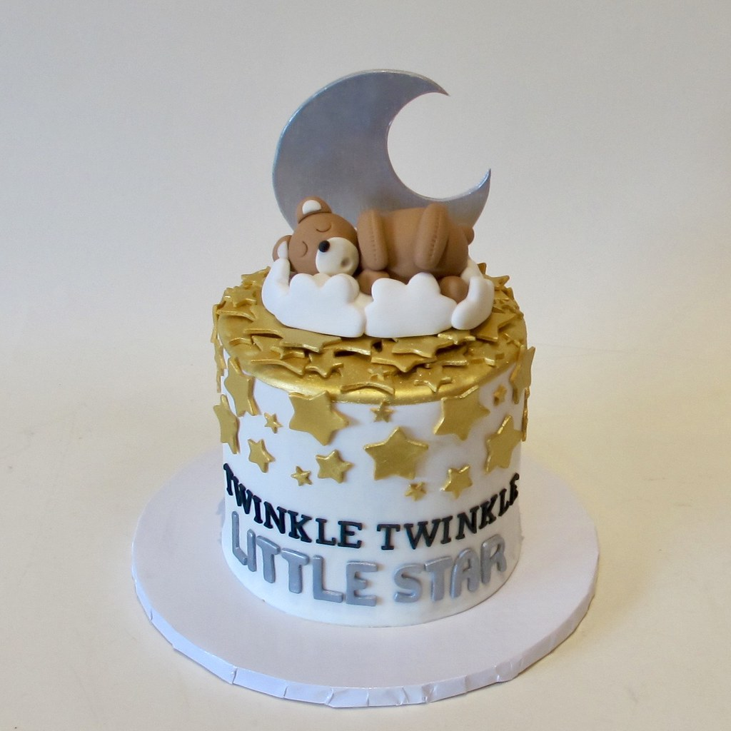 Toddler Birthday Cake 301277 Twinkle Little Star Theme Bir Flickr
