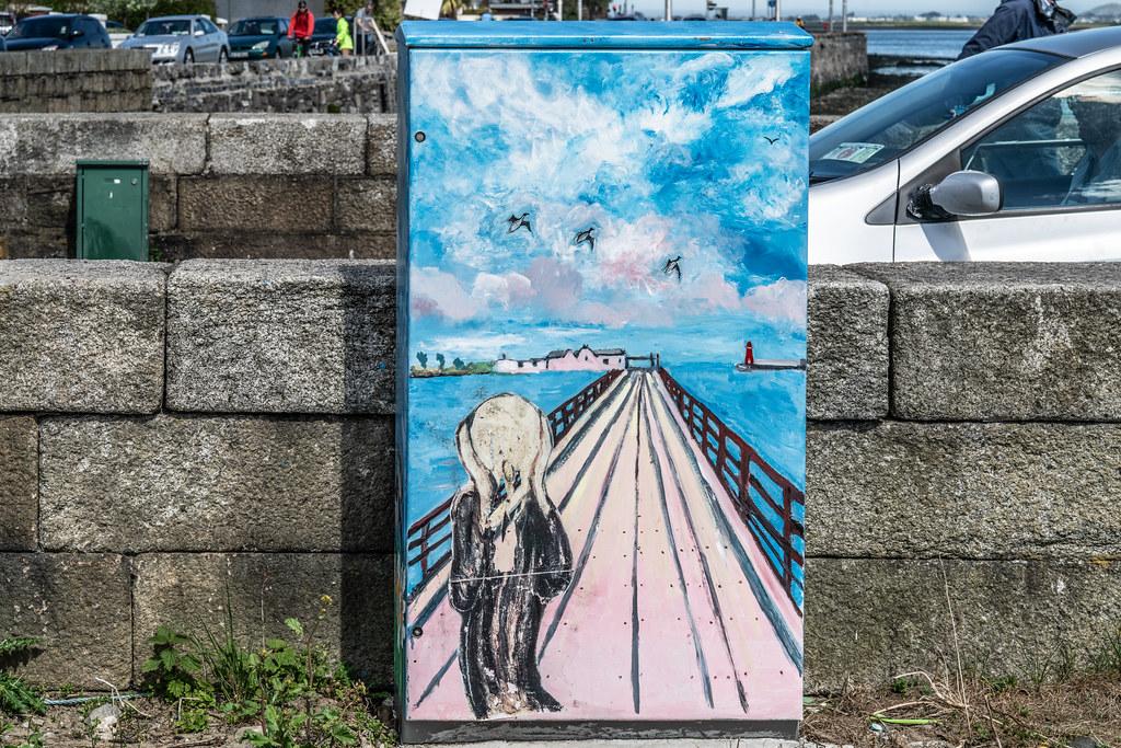 BYMIER BULL WALL BY MARIE FALLON [BESIDE THE WOODEN BRIDGE IN CLONTARF]  004