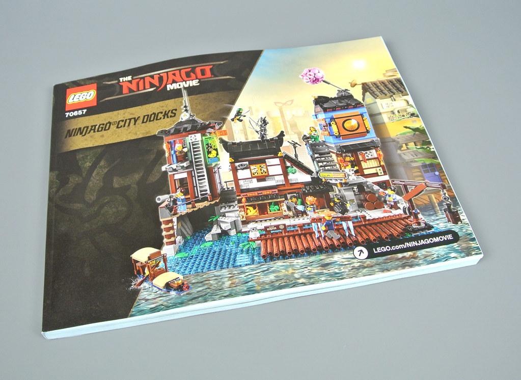 Lego The Lego Ninjago Movie 70657 Ninjago City Docks Review