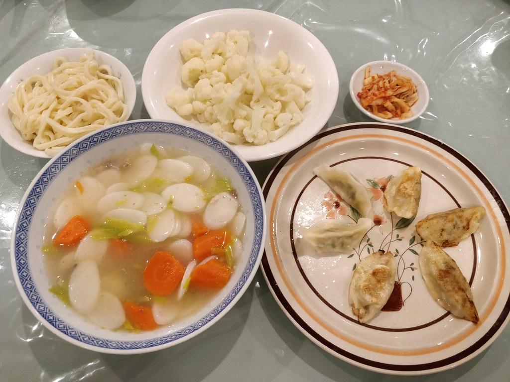 Kimchi Rice Cake