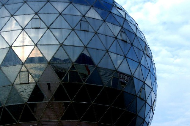 Mirror Ball Building | by