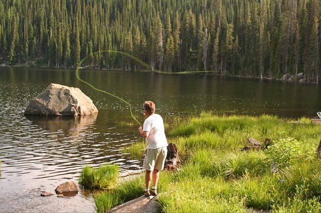 Fly fishing fish lake near halfway oregon fredism flickr for Nearest fishing lake