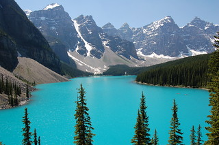 Lake Moraine and the Valley of the Ten Peaks | by Patrick Costello