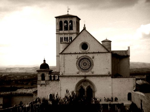 church  of assisi | by ►bynini◄ [slightly away]