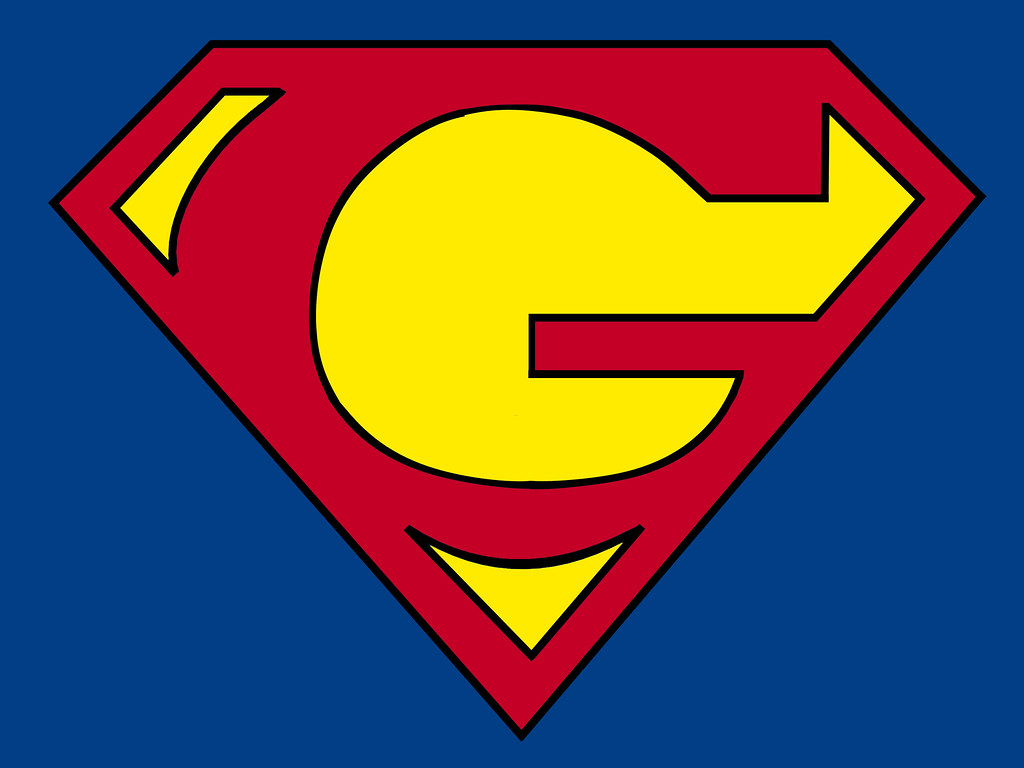 G final result | project >> G à la Superman. first step ...