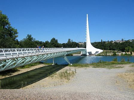 sundial bridge, Redding CA | by bubbletea1