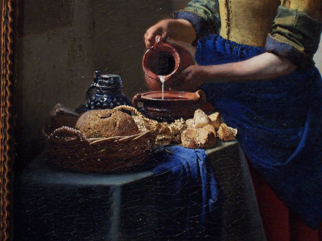 Detail of the Kitchen Maid by Vermeer | Manisha | Flickr