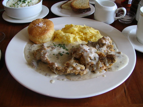 chicken fried steak & eggs | by vj_pdx