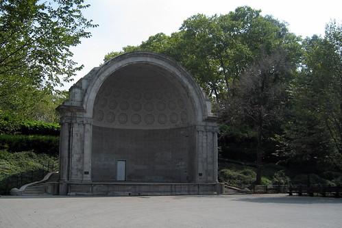 Bandshell Central Park Nyc Nyc Central Park Naumberg