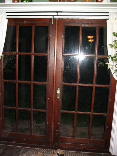 Salvage French Doors W Insulation Mindy Flickr