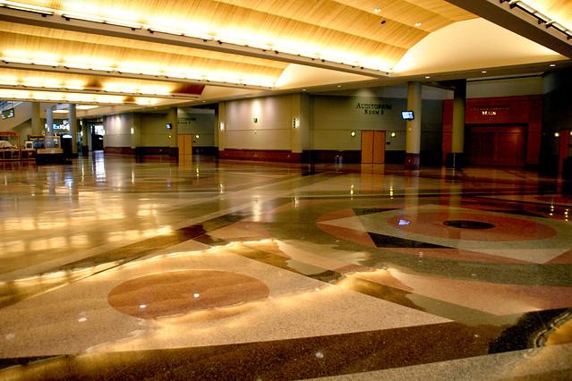 Minneapolis Convention Center Floor Plan: Main Hallway Area, Convention Center, Minneapolis