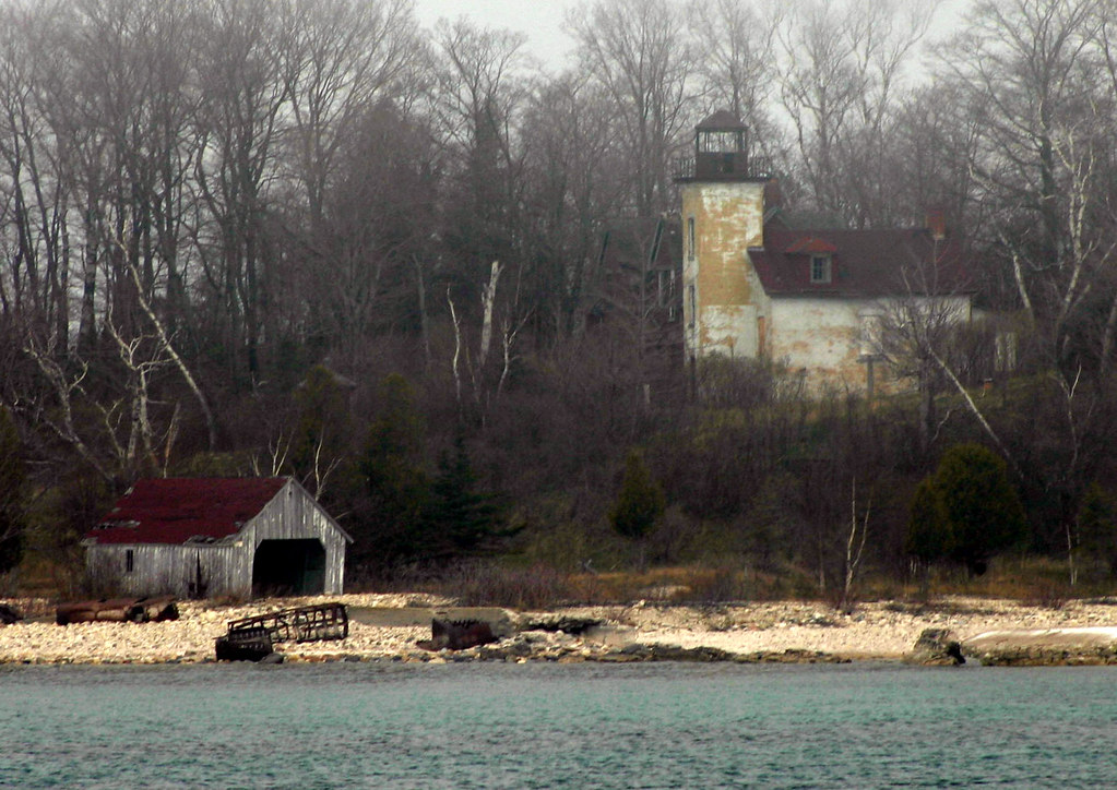 South Fox Island 9 Seen From The Great Lakes