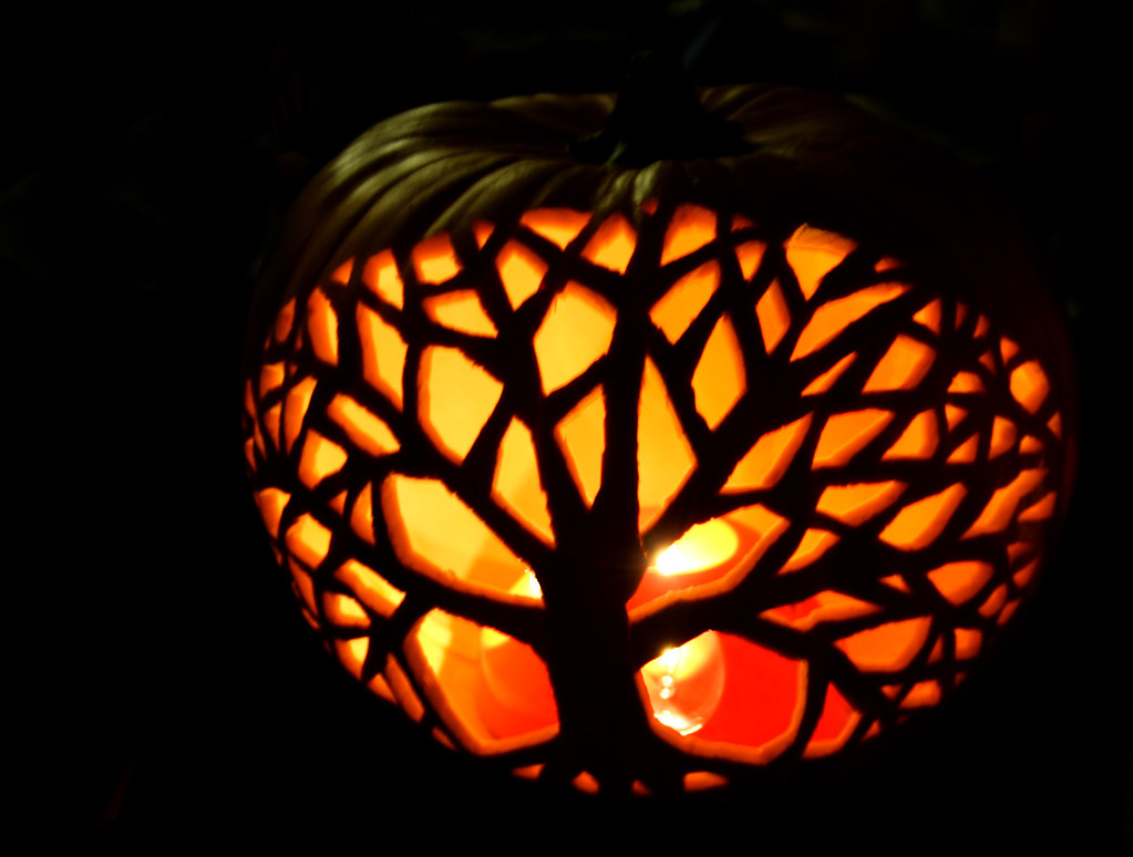 Tree Of Life Pumpkin The Craft Store Sells These