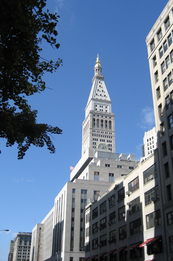 nyc met life tower the metropolitan life insurance