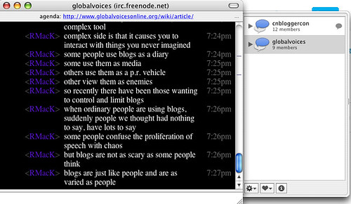 Live transcript from Chinese Blogger Conference 2006 | by TSalon