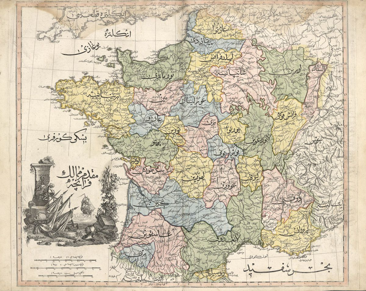 France at the time of the monarchy (1803)