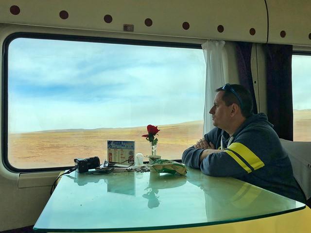 Sele en el tren de las nubes al Tíbet (Transtibetano)
