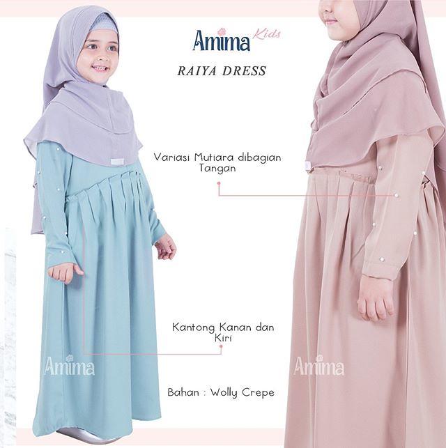 Gamis Amima Raiya Kids Dress Baju Gamis Wanita Busana Mu Flickr