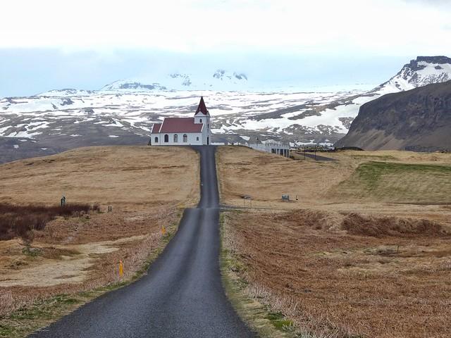 Ingjaldscholskirkja (Snaefellsnes, Islandia)