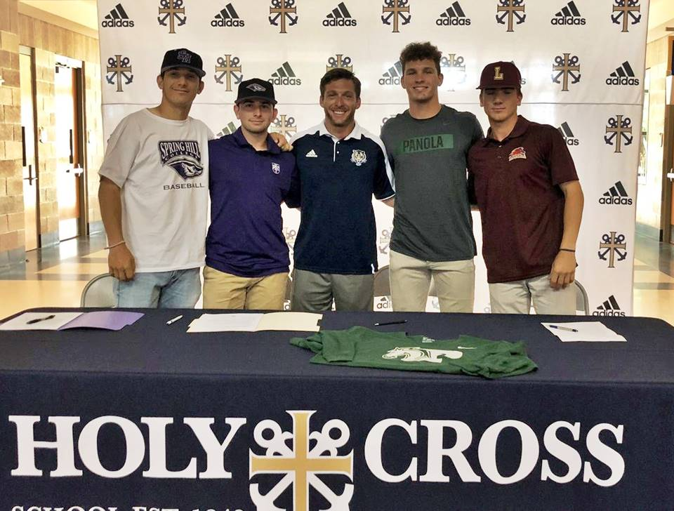 Holy Cross signing day
