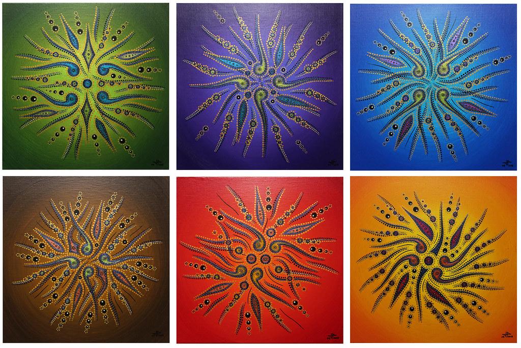 mouvement de formes color es tableaux modernes mouvement flickr. Black Bedroom Furniture Sets. Home Design Ideas