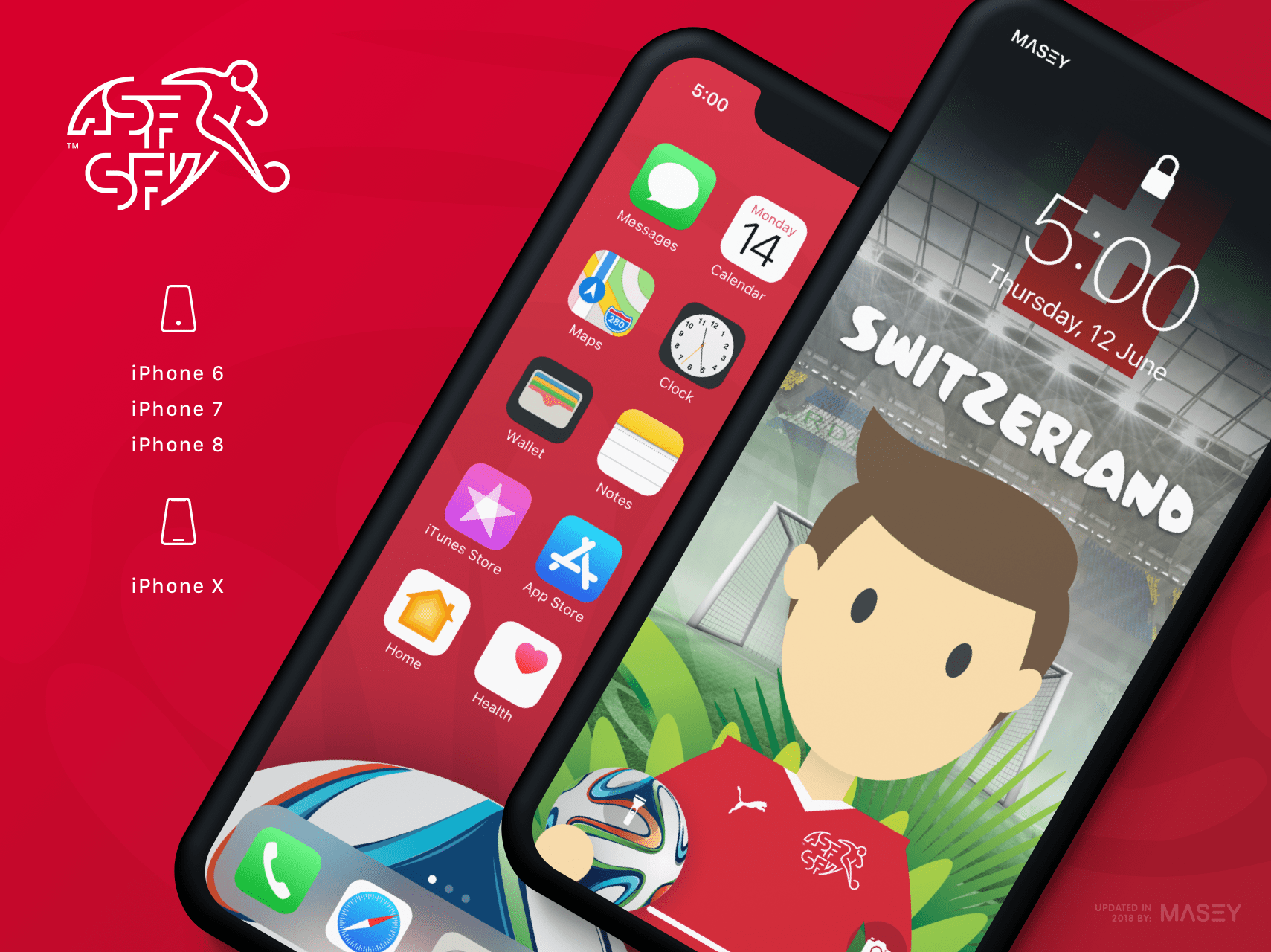 Team Switzerland iPhone Wallpaper