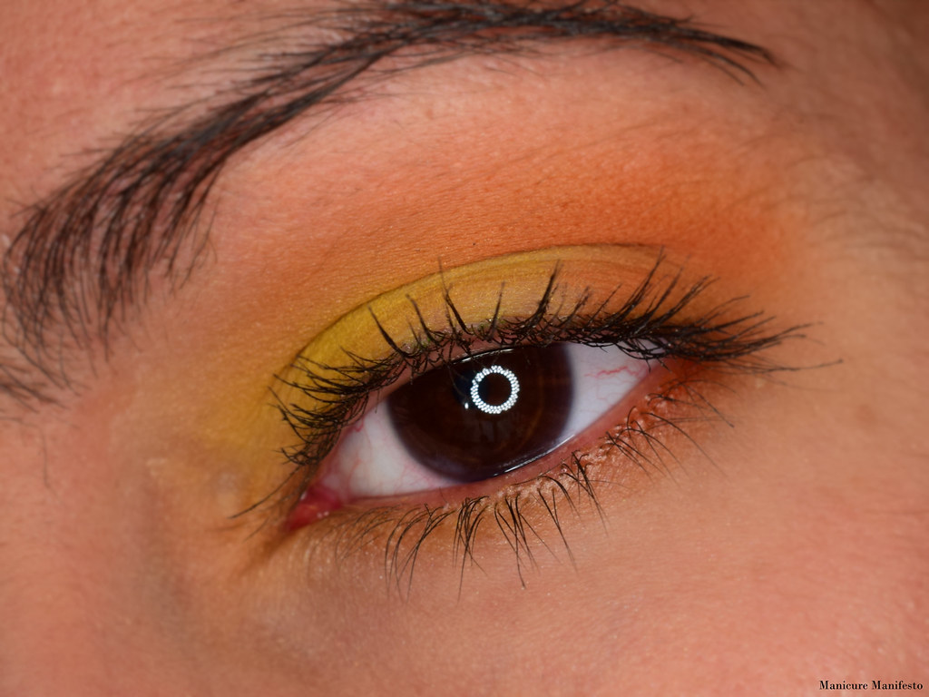 sunset eyeshadow tutorial
