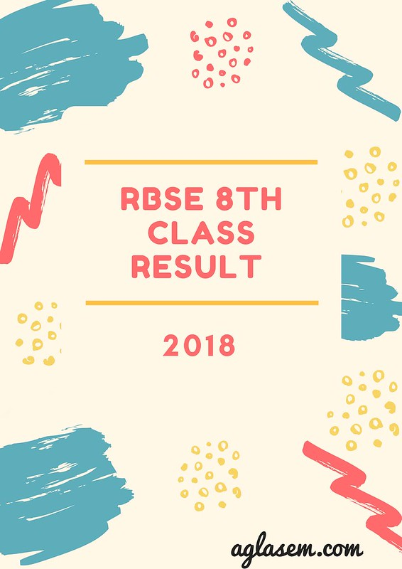 Rajasthan Board 8th Class Result 2018 Announced - Check Your