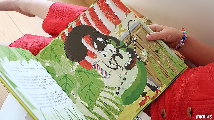 la peluquería del señor calabacín libro infantil