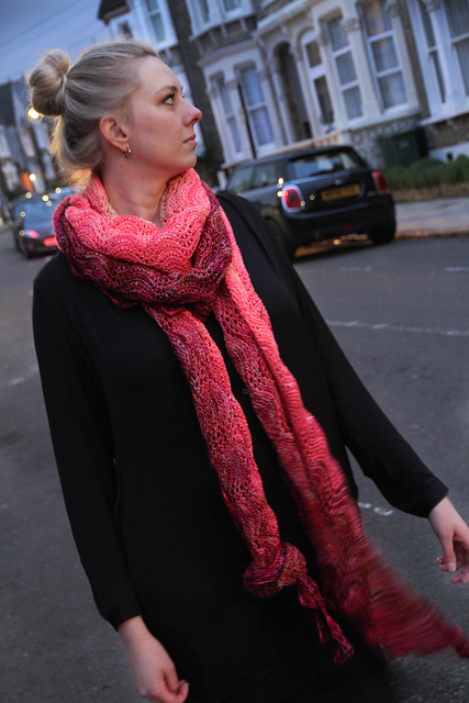 Blend in, Stand Out shawl by Brixton Purl
